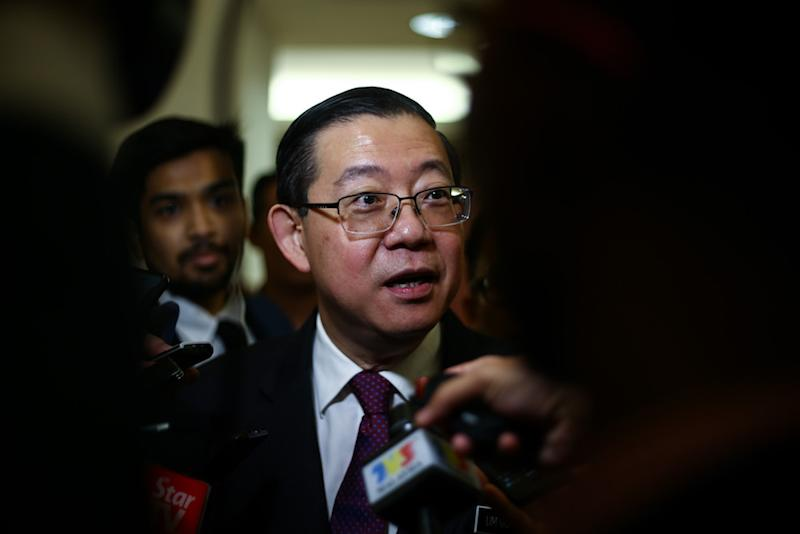Former prime minister Datuk Seri Najib Razak had seized on the A-G's latest reports to reject Finance Minister Lim Guan Eng's (pic) allegation that the funds were 'missing'. — Picture by Ahmad Zamzahuri
