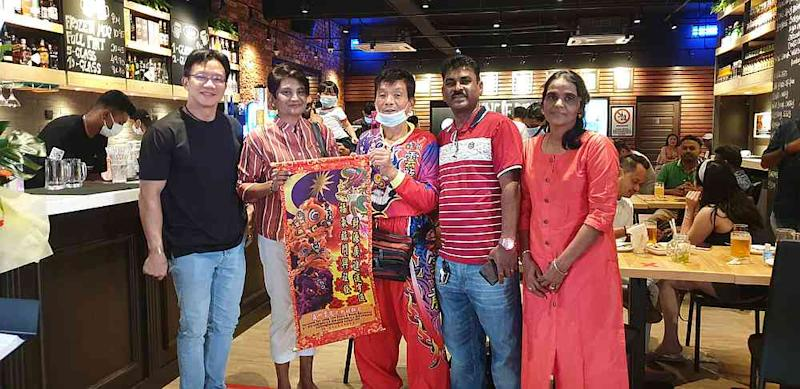 Uncle Don's founder and CEO Ian Ong with guests at the newly opened Uncle Don's in Seremban 2. — Picture courtesy of Thomas Samuel