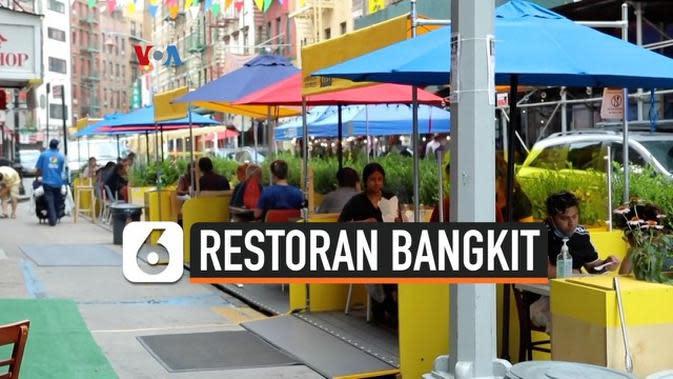 VIDEO: Restoran di Pecinan New York Mencoba Bangkit Lagi
