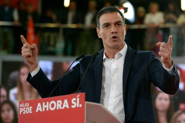 Spanish Prime Minister Pedro Sanchez: 'We have to face up to some serious threats, we have to face up to the spirit of Francoism'
