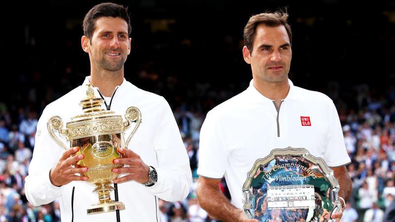 Novak Djokovic beat Roger Federer in an epic Wimbledon final.