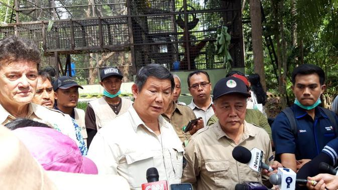 Hashim Djojohadikusumo Resmikan Pusat Suaka Orangutan di Kalimantan