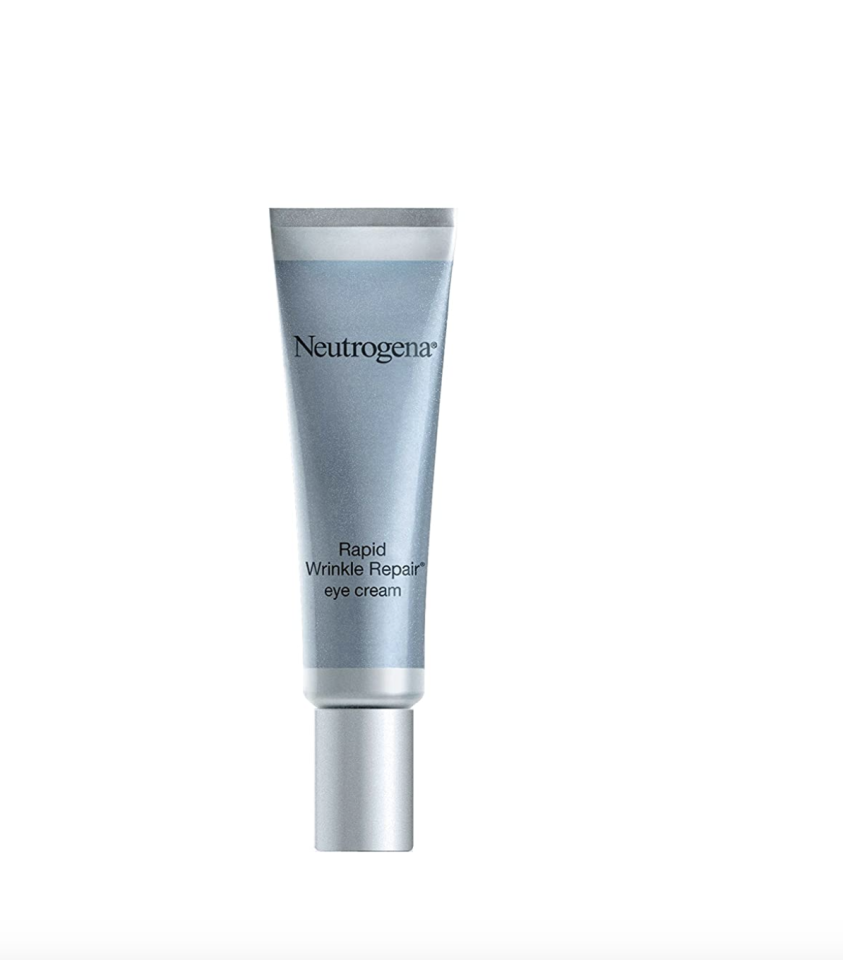 """<p><strong>Neutrogena</strong></p><p>amazon.com</p><p><strong>$17.73</strong></p><p><a href=""""https://www.amazon.com/dp/B004D24818?tag=syn-yahoo-20&ascsubtag=%5Bartid%7C10056.g.33606650%5Bsrc%7Cyahoo-us"""" target=""""_blank"""">Shop Now</a></p><p>This is the only eye cream you need if you're serious about tackling wrinkles. The retinol formula boosts collagen to erase crow's feet and fine lines, as well as improve tone and texture.</p>"""
