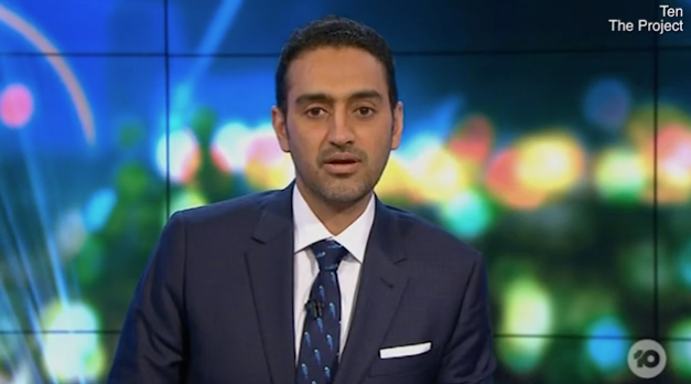 Waleed Aly was affected by Australia's Ashes loss. Photo: Channel 10