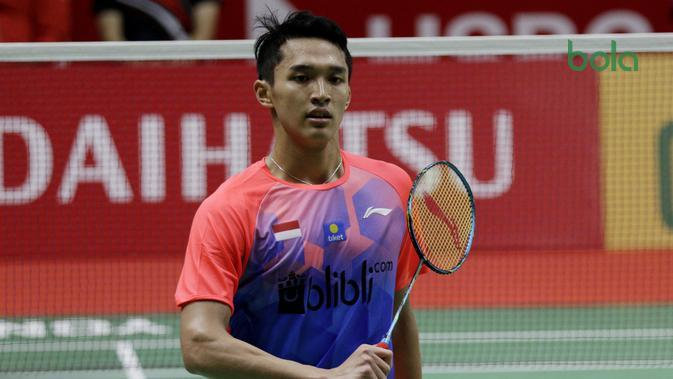 Indonesia Masters 2020: Jonatan Christie Susul Anthony Ginting ke Perempat Final