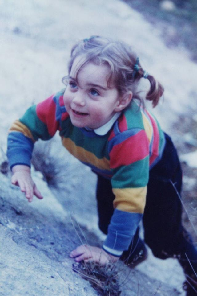 <p>A young Kate pictured enjoying the outdoors. <em>(Image via Instagram)</em> </p>