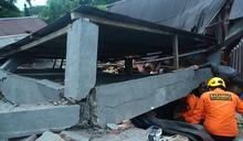 印尼規模6.2地震 至少3死1飯店倒塌