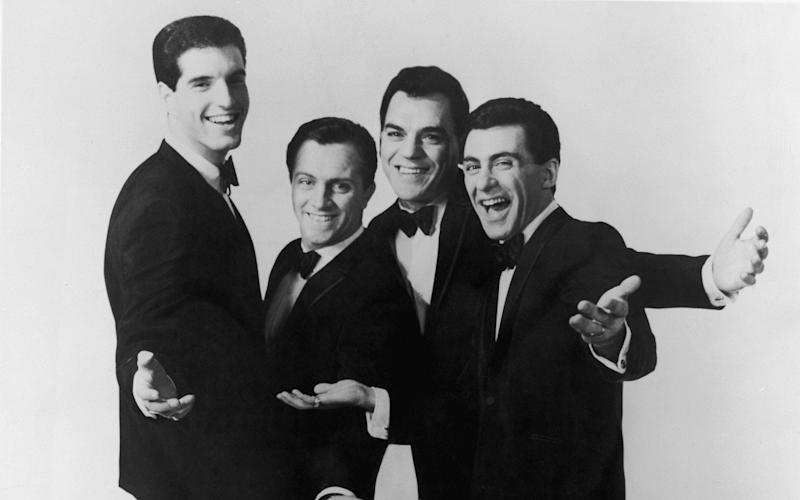 The original Four Seasons: (l-r) Bob Gaudio, Tommy DeVito, Nick Massi and Frankie Valli -  Hulton Archive/Getty Images