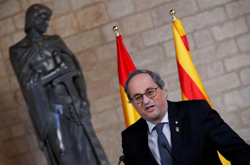 Catalan parliament passes motion against monarchy