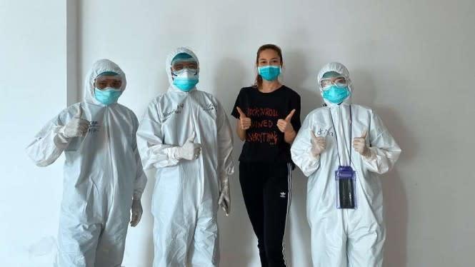 Tim Medis Disebut Penyebar Virus, Andrea Dian: Mereka Justru Pejuang