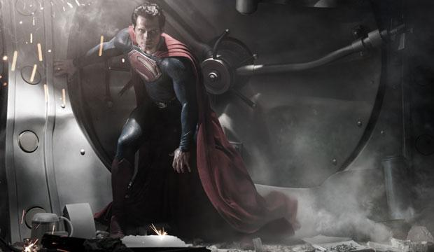 New Superman Revealed in First Photo From 'Man of Steel'