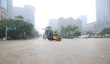 午後大豪雨 台北市信義區多處淹水(2) (圖)