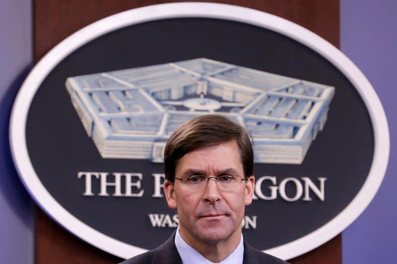 U.S. ready to finish any war started with Iran: Defense Secretary