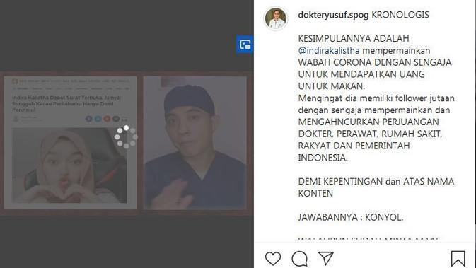 (Foto: Instagram @dokteryusuf.spog)