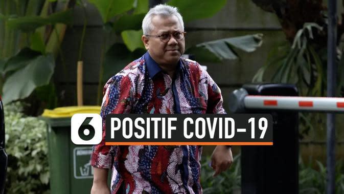 TANPA GEJALA, KETUA KPU ARIEF BUDIMAN POSITIF COVID-19