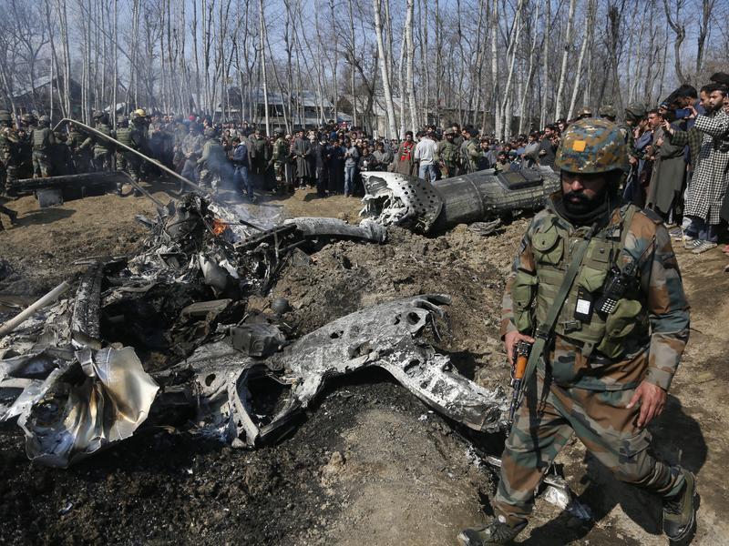 衝突急速升溫 印度軍機遭巴國擊落