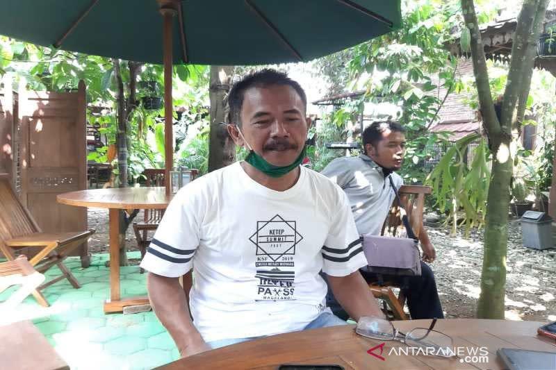 Pelaku usaha di kawasan wisata Borobudur mulai buka kembali
