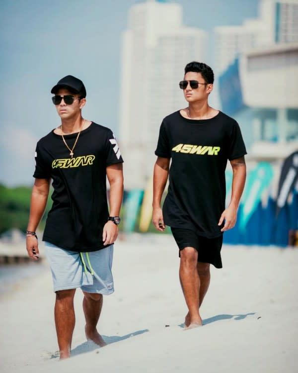 10 Potret Kedekatan Atlet Jetski Aero dan Aqsa Aswar,Brother Goals