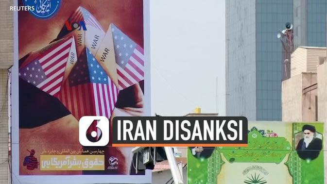 VIDEO: Begini Sanksi Ekonomi Baru Amerika pada Iran