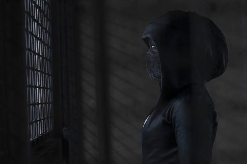 King as Sister Night in 'Watchmen' (Photo: HBO)