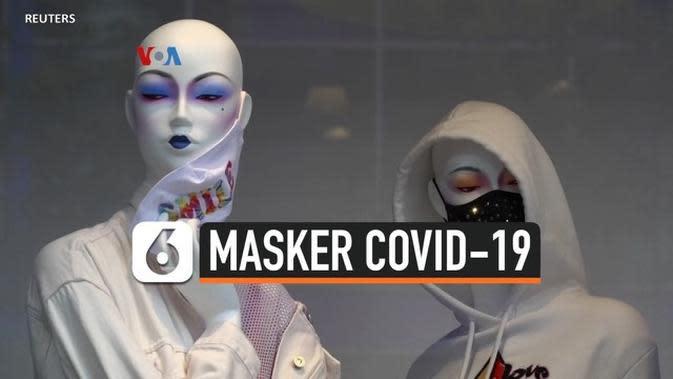 VIDEO: Masker Anti Covid-19 Jadi Aksesoris Pelengkap Penampilan