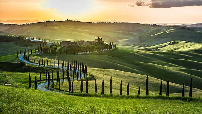 Tuscany, Italy. (Liputan6/iStockphoto)