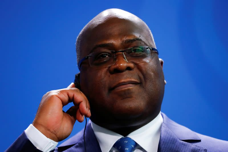 Congo president replaces chief of staff amid graft trial
