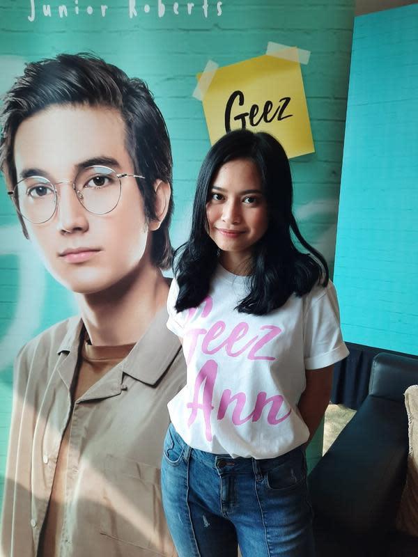 Hanggini pemeran utama wanita film Geez and Ann. (Foto: Wayan Diananto)