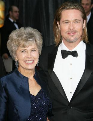 Brad Pitt's mum criticised over anti-gay letter