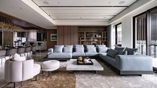 精雕細琢,淬鍊豪宅設計的新高度! 每個空間都展演出色的生活美學