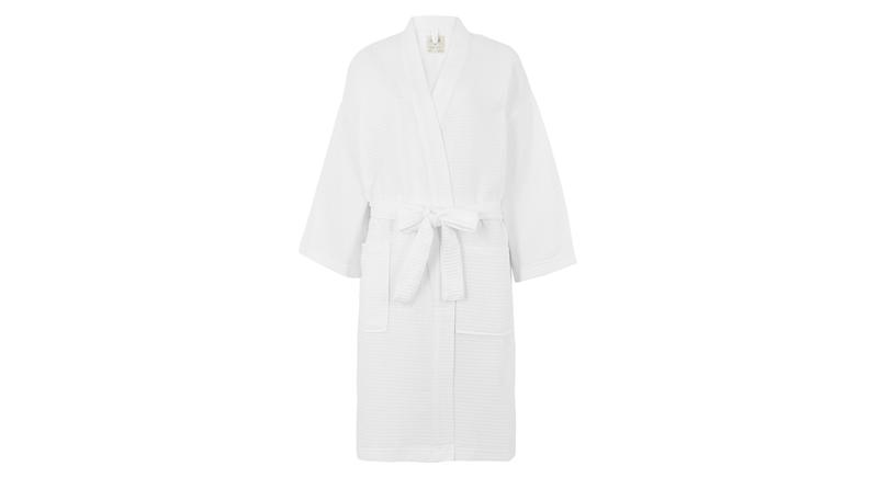 Cotton Waffle Dressing Gown