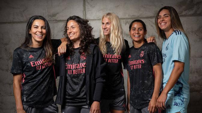 Jersey tandang tim wanita Real Madrid musim 2020/21 (Dok Real Madrid)