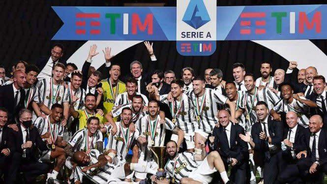 Resmi, Serie A Musim 2020/21 Dimulai 19 September
