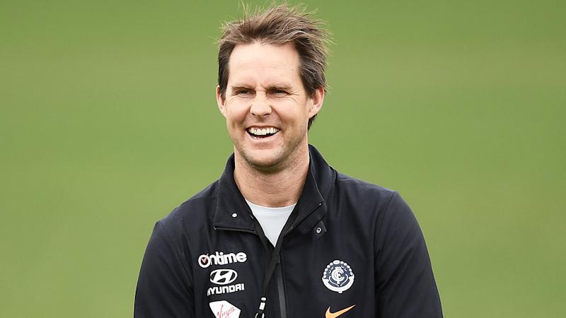 David Teague will take the reins at Carlton on a full-time basis.