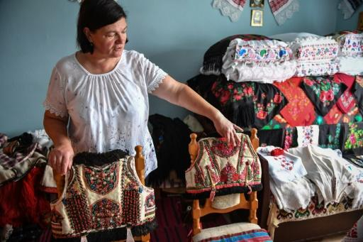 Dorina Hanza, a 52-year-old embroiderer, was among those in Romania who cottoned on to the similarity between the traditional folk waistcoat and the Dior version