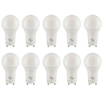 Euri Lighting 75 Watt Equivalent A19 Energy Star And Dimmable Led Light Bulb Warm White 2700k 10 Pack Yahoo Shopping
