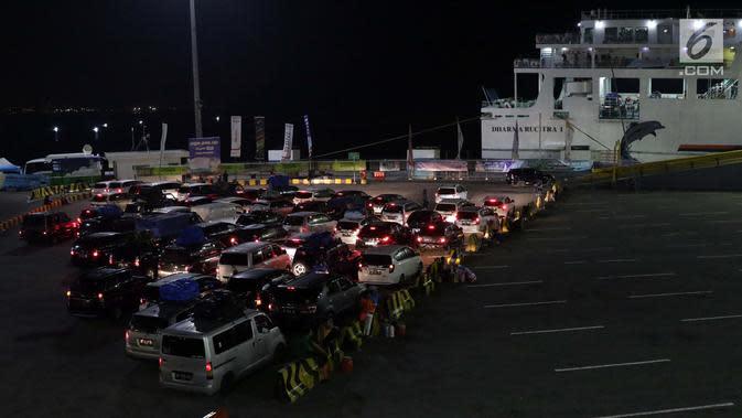 Macet, Gerbang TolBakauheni Selatan Ditutup Sementara