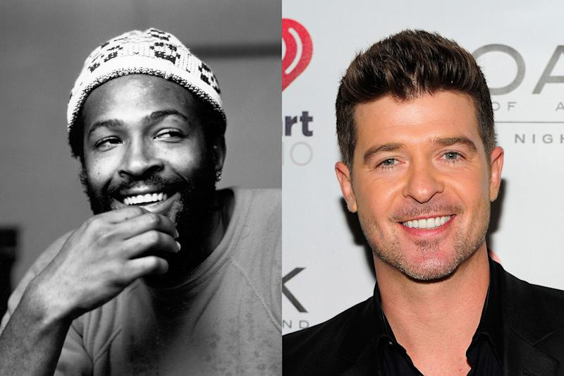 Marvin Gaye's Family Countersues Robin Thicke Over 'Blurred Lines'