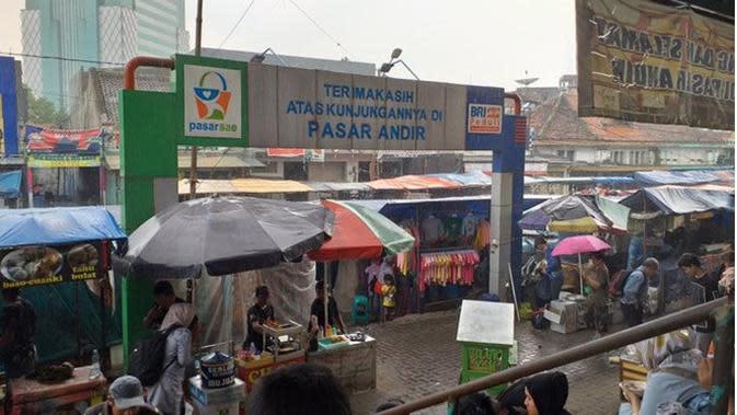 Efek Virus Corona, Ini 6 Potret Pasar Tradisional Sepi Pengunjung (sumber: Twitter.com/endangrachmat2)