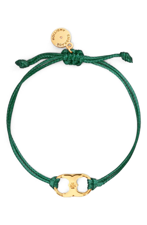 Embrace Ambition Bracelet in green.