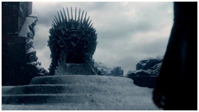 Iron Throne as seen in season 7 episode 6