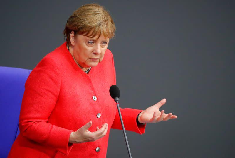 EU and Britain making 'very limited' progress in talks - Merkel