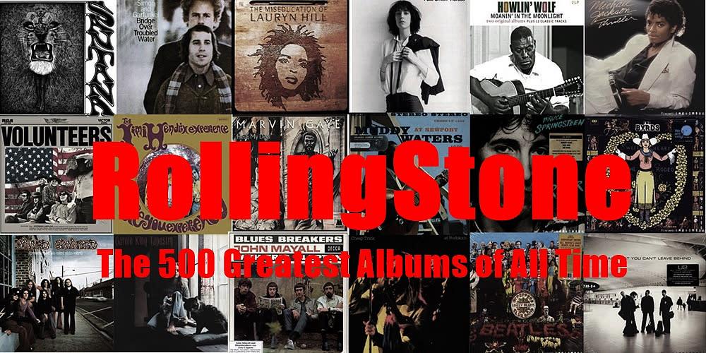 滾石雜誌史上500大唱片