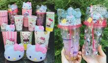 貓界女王降臨!85度C第二波「Hello Kitty周邊」:粉紅保冰杯、造型隨手杯