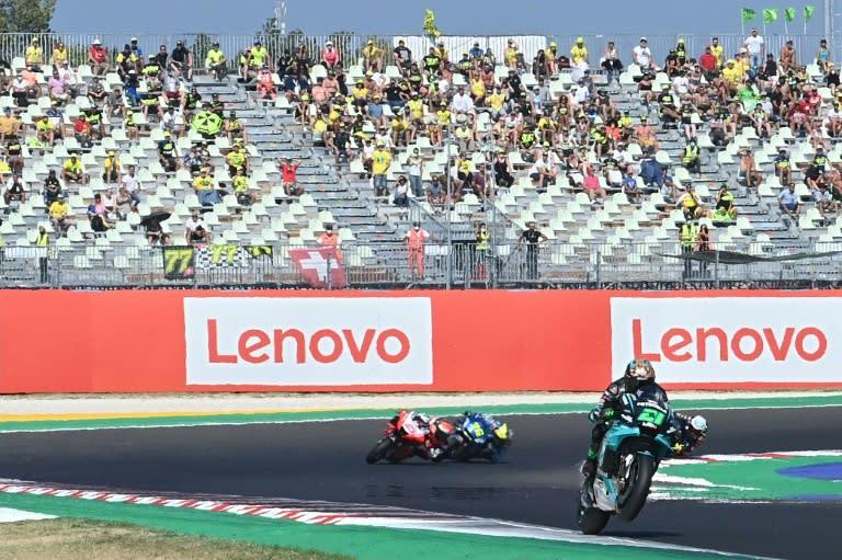 Morbidelli wins San Marino MotoGP, Dovizioso takes championship lead