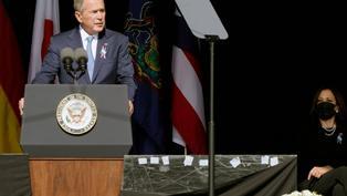 喬治布殊出席紀念911活動 籲國民展現當年團結