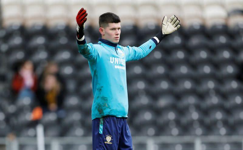 Leeds sign goalkeeper Meslier on permanent deal