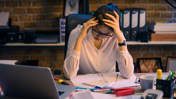 ilustrasi stres/copyright By TORWAISTUDIO (Shutterstock)