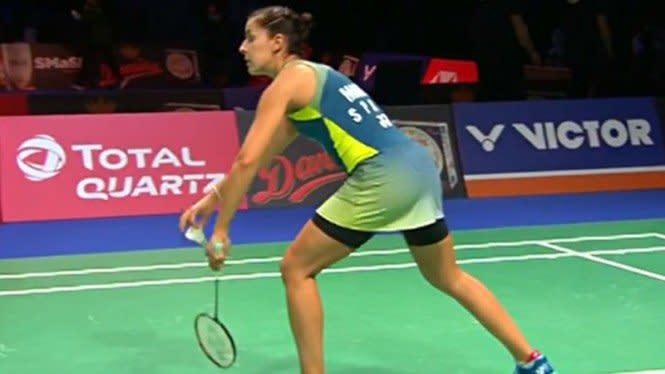 Tampil Ganas, Ratu Bulutangkis Dunia ke Perempat Final Denmark Open