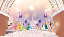 迪士尼公主殺入旺角 齊集14位迪士尼公主塑像+城堡主題裝置